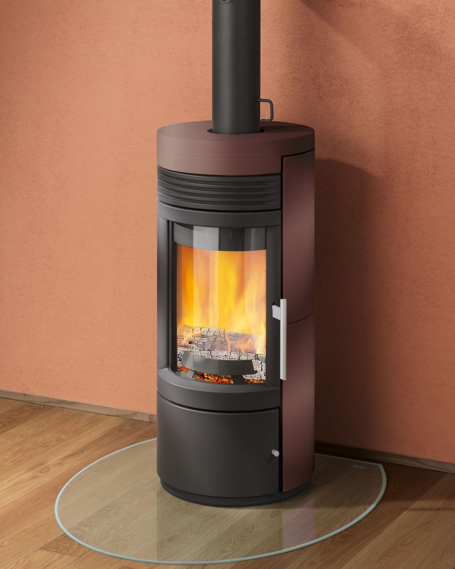 twist noir marron cubain les ma tres du feu chemin e po le bois po le granul s. Black Bedroom Furniture Sets. Home Design Ideas